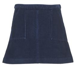 Textil Ženy Sukně Kookaï BIRKIN VELOURS Tmavě modrá
