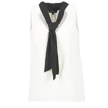 Textil Ženy Halenky / Blůzy Morgan OREA Bílá / Černá