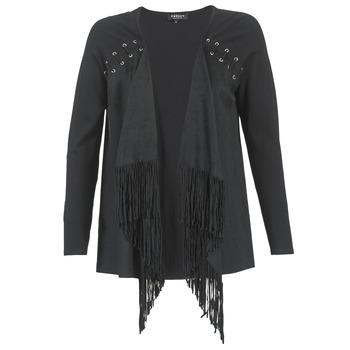 Textil Ženy Svetry / Svetry se zapínáním Morgan MIKER Černá