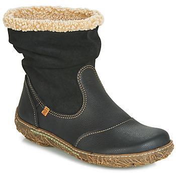 Boty Ženy Kotníkové boty El Naturalista NIDO Černá