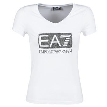 Emporio Armani EA7 Trička s krátkým rukávem FOUNAROLA - Bílá