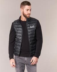 Textil Muži Prošívané bundy Emporio Armani EA7 ONAFRATO Černá