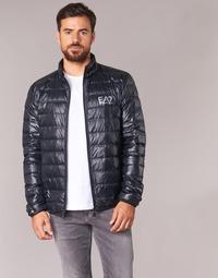 Textil Muži Prošívané bundy Emporio Armani EA7 JAFOUKARO Černá