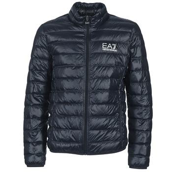 Textil Muži Prošívané bundy Emporio Armani EA7 JAFOUKARO Tmavě modrá