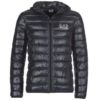 Textil Muži Prošívané bundy Emporio Armani EA7 ANDOURALO Černá