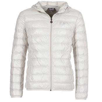 Textil Muži Prošívané bundy Emporio Armani EA7 ANDOURALO Bílá