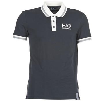 Textil Muži Polo s krátkými rukávy Emporio Armani EA7 OKOLAMI Tmavě modrá