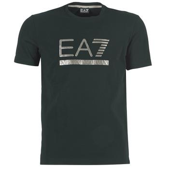 Textil Muži Trička s krátkým rukávem Emporio Armani EA7 MAGGAROL Černá