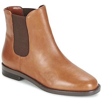 Boty Ženy Kotníkové boty Ralph Lauren BELVA Zlatohnědá