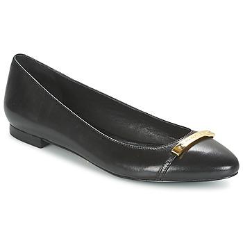 Boty Ženy Baleríny  Ralph Lauren FARREL-FLATS-CASUAL Černá