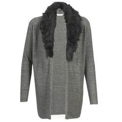 Textil Ženy Svetry / Svetry se zapínáním Naf Naf NESTOR Antracitová