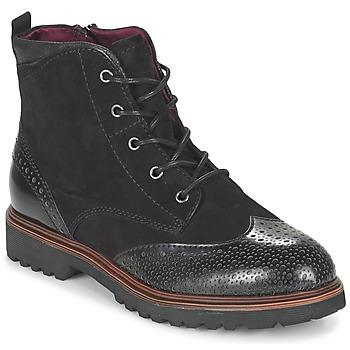 Boty Ženy Kotníkové boty Tamaris SOROLA Černá