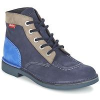 Boty Ženy Kotníkové boty Kickers KICK COL Tmavě modrá