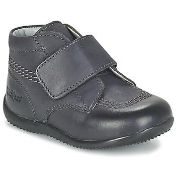 Boty Děti Kotníkové boty Kickers BILOU Černá