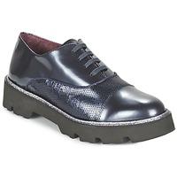 Boty Ženy Šněrovací společenská obuv Fericelli FANCHON Tmavě modrá