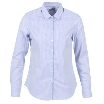 Textil Ženy Košile / Halenky Casual Attitude FANFAN Bílá / Modrá