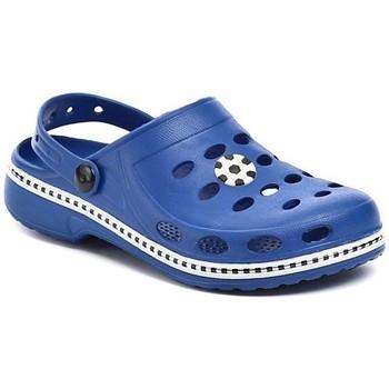 Boty Chlapecké Pantofle Magnus 44-0641-S1 modré dětské nazouváky Modrá