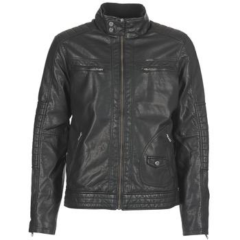 Textil Muži Kožené bundy / imitace kůže Petrol Industries VESTE JAC150 Černá