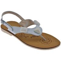 Boty Dívčí Sandály Inblu  Bílá