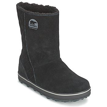 Boty Ženy Zimní boty Sorel GLACY Černá