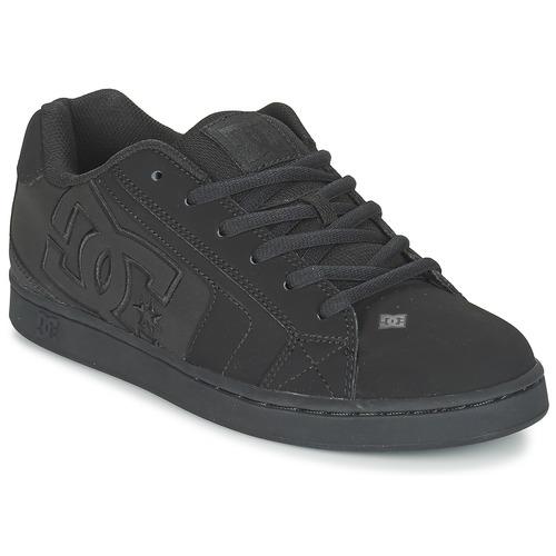 Boty Muži Skejťácké boty DC Shoes NET Černá