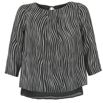 Textil Ženy Halenky / Blůzy Betty London FADILIA Černá / Bílá