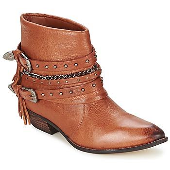 Boty Ženy Kotníkové boty Dumond ZIELLE Hnědá