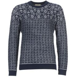 Textil Muži Svetry Selected RUPERT Tmavě modrá
