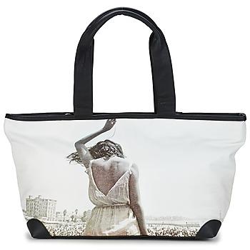 Taška Ženy Velké kabelky / Nákupní tašky Kothai MICRO GIRL Černá / Šedá