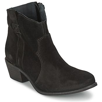 Boty Ženy Polokozačky Shoe Biz BROPE Černá