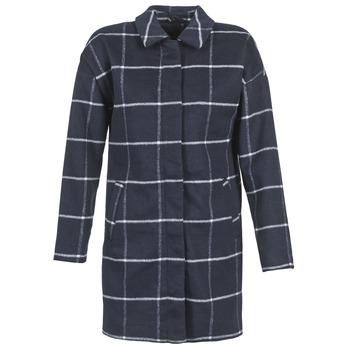 Textil Ženy Kabáty Vila VILERKA Tmavě modrá