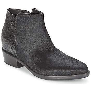 Boty Ženy Kotníkové boty Alberto Gozzi PONY NERO Černá