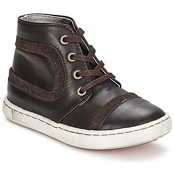 Boty Chlapecké Kotníkové boty Tartine Et Chocolat JR URBAIN Čokoládová