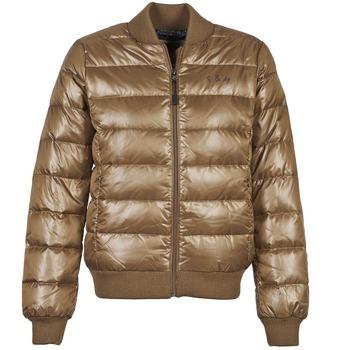 Textil Ženy Prošívané bundy Franklin & Marshall JKWAL511 Hnědá