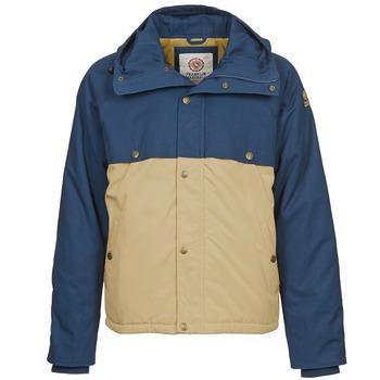 Textil Muži Parky Franklin & Marshall JKMVA034 Modrá / Béžová