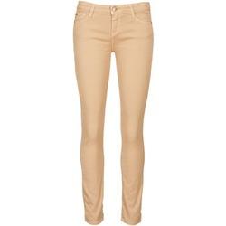 Textil Ženy Tříčtvrteční kalhoty Acquaverde SCARLETT Krémová