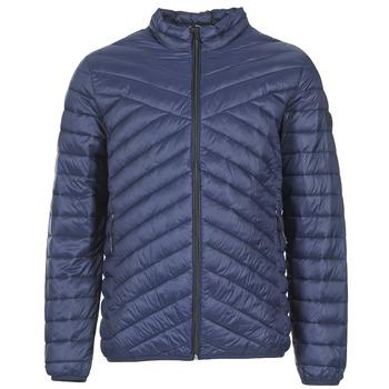 Textil Muži Prošívané bundy Jack & Jones CALL CORE Tmavě modrá