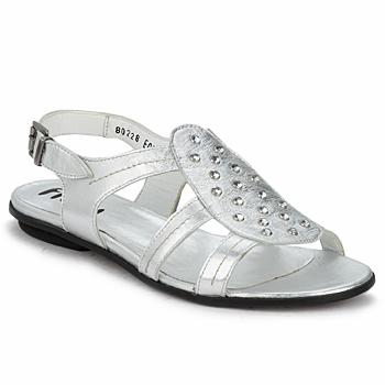 Boty Ženy Sandály Fidji BARRETA Stříbrná