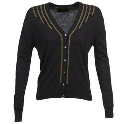 Textil Ženy Svetry / Svetry se zapínáním Chipie BERENICE Černá