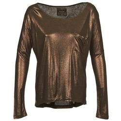 Textil Ženy Trička s dlouhými rukávy Chipie NINON Zlatá
