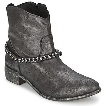 Boty Ženy Kotníkové boty Meline VUTIO Černá / Metalíza