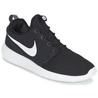 Boty Muži Nízké tenisky Nike ROSHE TWO Černá / Bílá