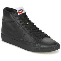 Boty Muži Kotníkové tenisky Nike BLAZER MID Černá
