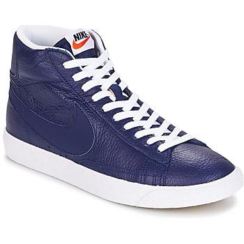 Nike Tenisky BLAZER MID - Modrá