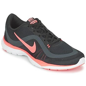 Boty Ženy Fitness / Training Nike FLEX TRAINER 6 W Černá / Růžová