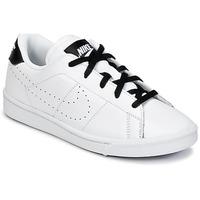 Boty Chlapecké Nízké tenisky Nike TENNIS CLASSIC PREMIUM PRESCHOOL Bílá / Černá