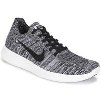 Boty Ženy Běžecké / Krosové boty Nike FREE RUN FLYKNIT W Bílá / Černá