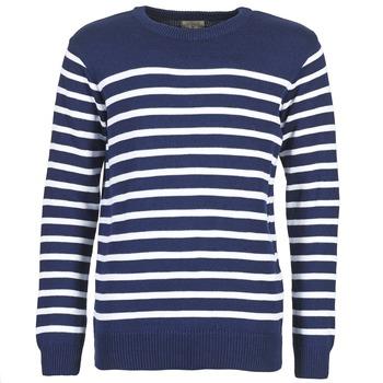 Textil Muži Svetry Casual Attitude FARCIELLE Tmavě modrá / Bílá