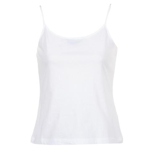 Textil Ženy Tílka / Trička bez rukávů  BOTD FAGALOTTE Bílá