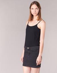 Textil Ženy Tílka / Trička bez rukávů  BOTD FAGALOTTE Černá